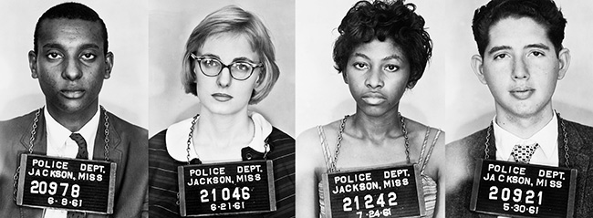 Breach of Peace: Portraits of the 1961 Mississippi Freedom Riders ...